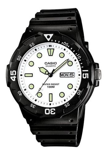 Reloj Hombre Casio Mrw-200h-7ev Análogo Retro / Lhua Store