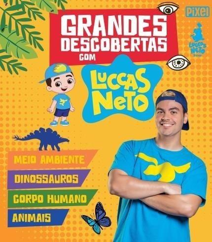 Box - Grandes Descobertas Com Luccas Neto - 4 Livros