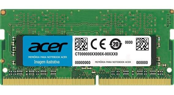 Memória 8gb Ddr4 Para Notebook Acer Es1-572