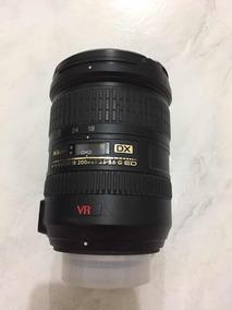 Lente Objetiva Nikon 18-200mm F/3.5-5.6g Dx