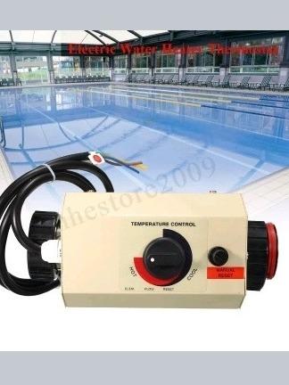 Calentador de Agua Sumergible Piscina de ba/ñera Inflable Calentador de Agua el/éctrico de 3000 W para Piscina Inflable ba/ñera de Esmalte Piscina Inflable