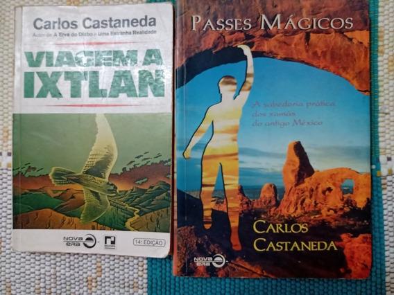 Lote Carlos Castaneda: Viagem A Ixtlan+passes Mágicos