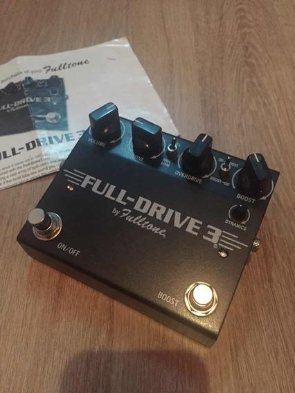 Pedal Fulldrive 3 - Fulltone Importado Na Caixa