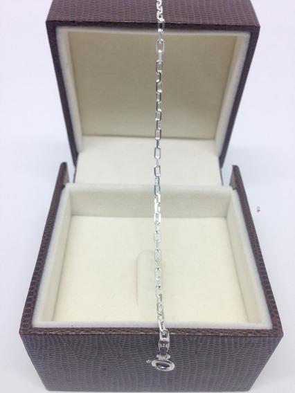 Pulseira Kartie Cadeado Italiana 3mm Em Prata 925- Elegante