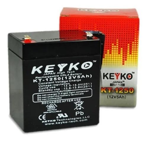 Bateria Pila Keyko Sellada 12v 5ah Ups, Cercos Y Portones