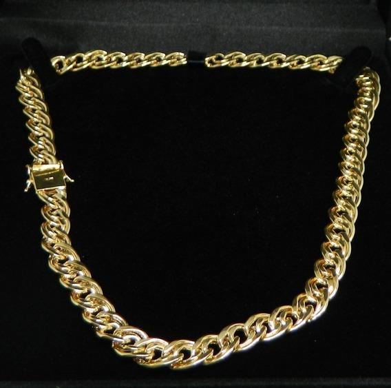 Corrente Romana 7.5mm Ouro 18k 45cm 20.60 Gramas!!