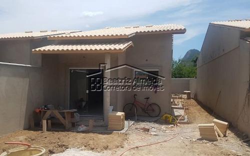 Casa 2 Qts (1 Suite) No Barroco, Sala, Cozinha Americana, Quintal E Garagem