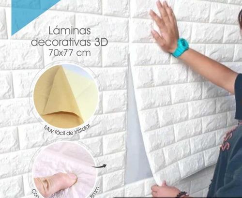 Tapiz Ladrillo Foam 3d Para Pared Con Adhesivo, Importadores