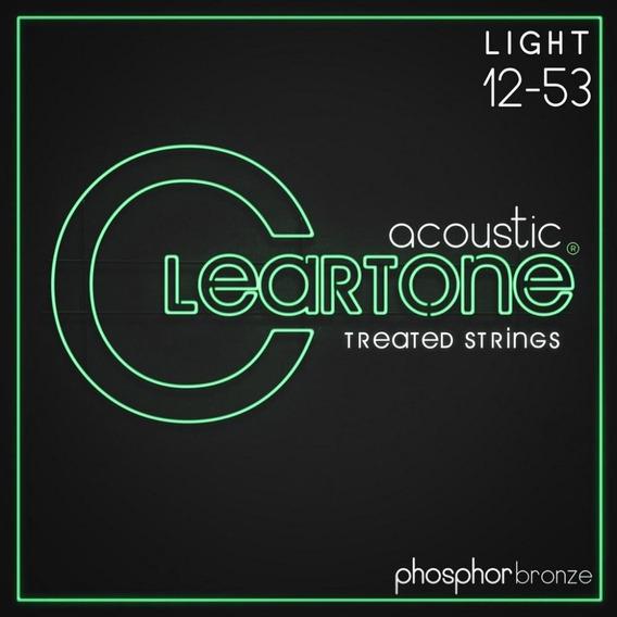 Encordoamento Cleartone Violao Aco Phos-bronze Light 12-53