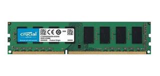 Memoria Crucial 8gb Ddr3 1600mhz Micron Udimm Para Pc