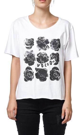 Remera Volcom Roses Woman Mujer Vowteba218105