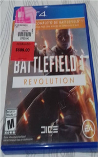 Battle Field Revolution Juego Ps4 Disco Original