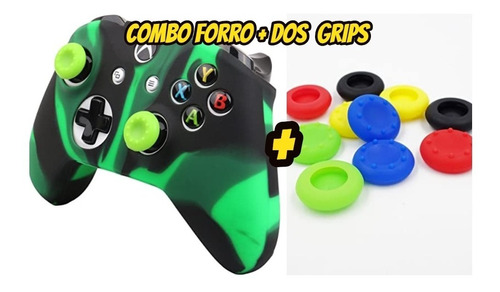 Combo Forro + Grips Para Control Xbox One