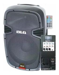 Bafle Activo Portatil Blg Rxa12p 180w Usb Bluetooth - Cuotas