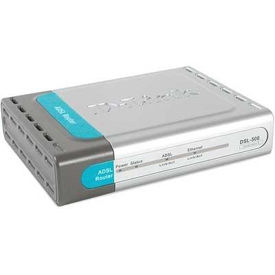 Modem Roteador Adsl - D-link - Dsl-500b - Sem Fonte