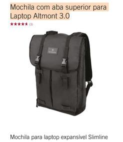 Mochila Victorinox Com Aba Superior Para Laptop Altmont 3.0