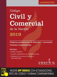 Código Civil Y Comercial De La Nación 2019 - Universitario