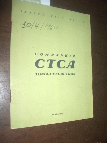 Teatro Bela Vista 1960 Seis Personagens A Procura De Um Auto