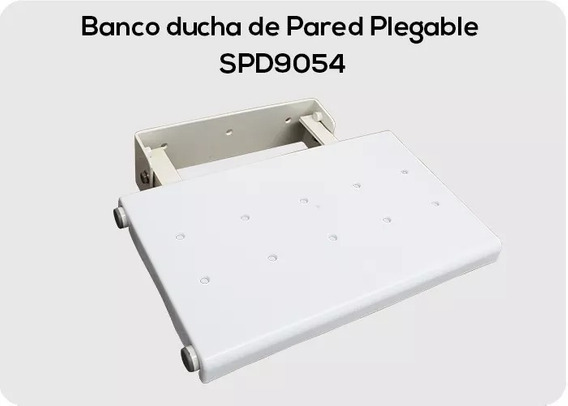 Banco Ducha Plegable De Pared Medimetrics