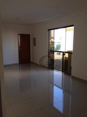 Apartamento Com 3 Dormitórios Para Alugar, 132 M² Por R$ /mês - Embaré - Santos/sp - Ap4048
