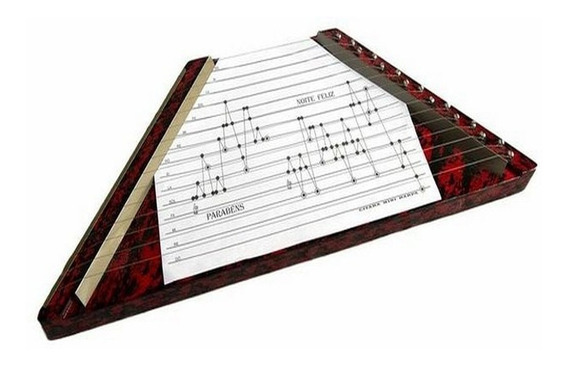Harpa Musical / Cítara - Cor Verde - Veja O Vídeo