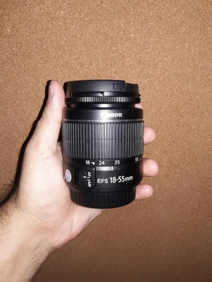 Lente Canon Efs 18-55 Mm