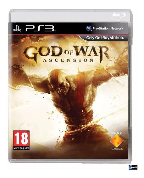 God Of War Ascension Ps3 Mídia Fisica | Garantia Playgorila