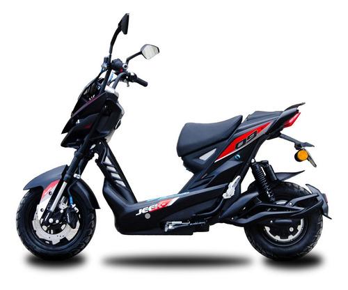 Moto Electrica Aima Bosch Jeek Negro Rojo