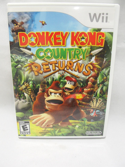 Jogo Donkey Kong Country Returns Nintendo Original
