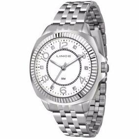Relógio Lince, Lrmj060l, Feminino,prata, Resistent 50 Metros