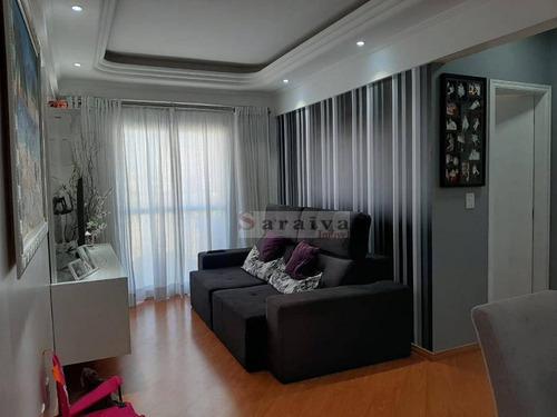 Imagem 1 de 20 de Apartamento Com 2 Dormitórios À Venda, 67 M² Por R$ 475.000,00 - Barcelona - São Caetano Do Sul/sp - Ap3729