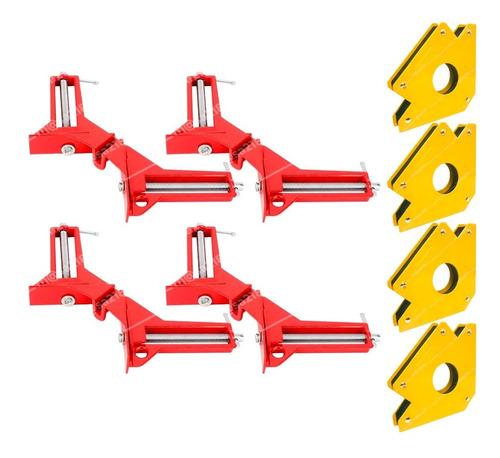 Imagen 1 de 1 de Prensas Esquineras Y Escuadras Magnéticas 3 P