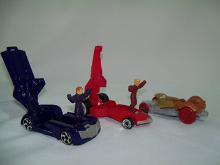 Carrinhos Hot Wheels Coleção Battle Force Mc Donalds Usados