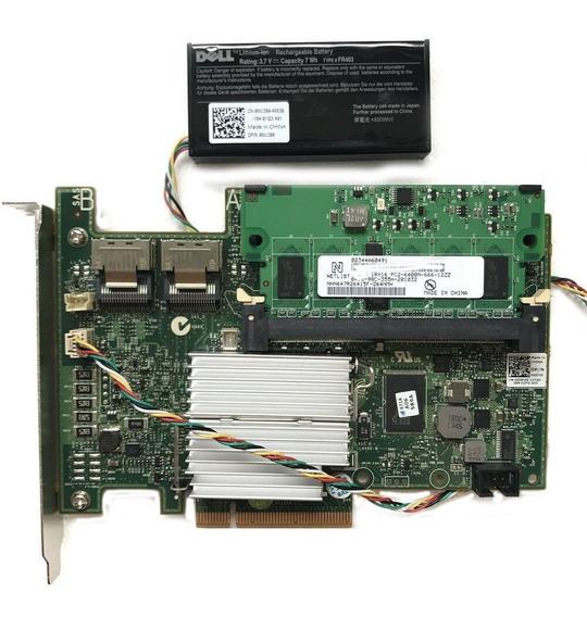 Controladora Raid Dell Perc H700 Xxfvx Cache 1gb + Bateria