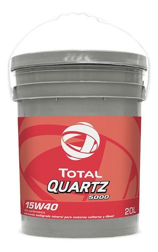 Imagen 1 de 2 de Total Quartz 5000 15w40 X 20l