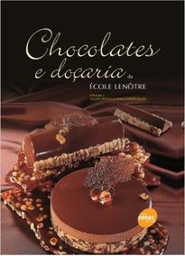 Livro Chocolates E Doçaria