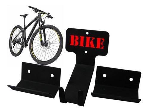 Imagem 1 de 6 de Suporte Para Bicicleta De Parede Pedal