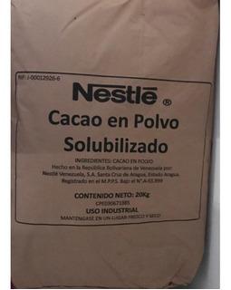 Cacao En Polvo Nestle X Saco