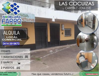Alquiler De Local En Las Cocuizas Al01-0020lc-mm