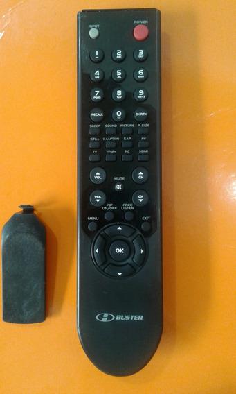 Controle Tv Buster Lcd Original Usado