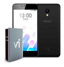 Phonestation Meizu M5c Preto, 5 , 2gb Ram, 16gb, Dual Sim