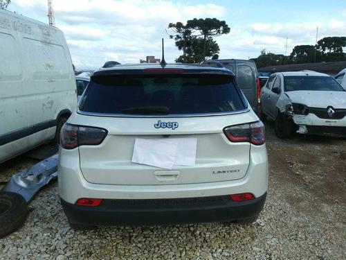 Sucata Jeep Compass 2017/2018 2.0 Para Retirada De Peças