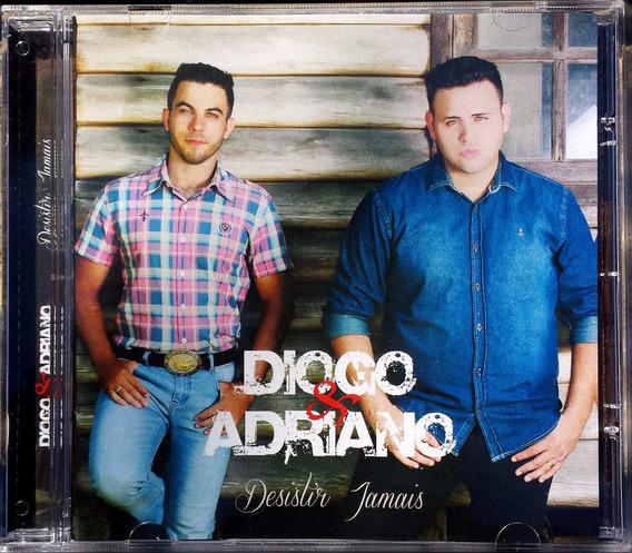 Cd Diogo & Adriano /bônus Play Back **frete Grátis**