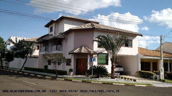 Casa Em Condomínio Para Venda Em Sorocaba, Boituva, 5 Dormitórios, 3 Suítes, 4 Banheiros, 1 Vaga - 606