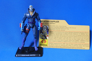 Destro Mercenary Gi Joe Figura 2007