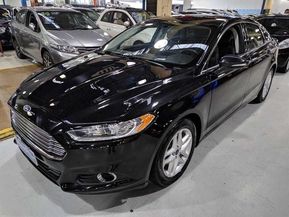 Ford Fusion 2.0 Se Preto 2014 Automático + Teto Solar!