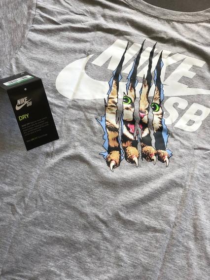 Camisa Nike Sb Skater Gato Casual Esporte Frete Gratis