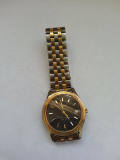 Reloj Tissot Pr50, Enchapado En Oro