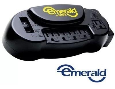 Protector De Voltaje Emerald Computadora Impresora Router Tv