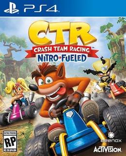 Juego Ps4 Ctr Crash Team Racing Nitro Fueled (latam)